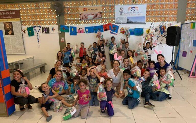 Colaboradores da Edusoft realizam ação social e arrecadam doações à Casa de Acolhida São Felipe Neri